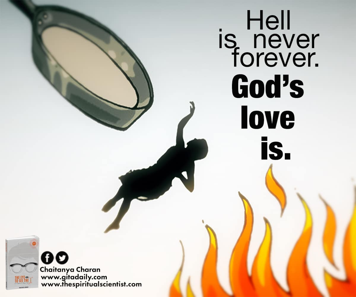 Hell is never forever – God's love is